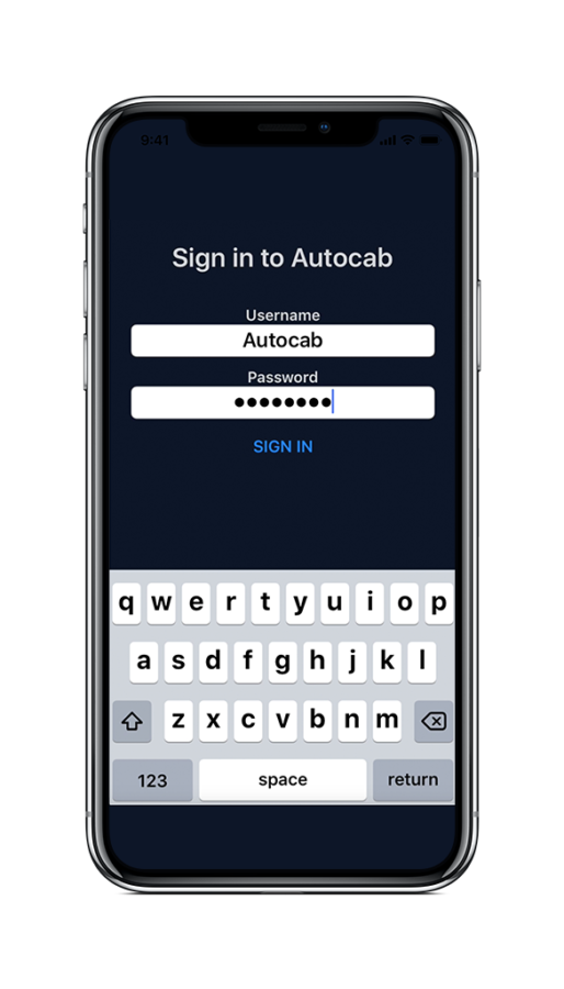 Autocab | iOS Driver Companion | iPhone App for Taxi & Private Hire