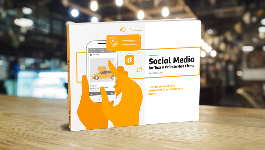 Social Media book cover on table