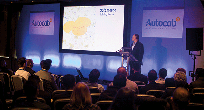 Taxi and private hire operators hear from Safa Alkateb, MD of Autocab at the annual Autocab User Conference.